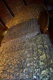 Backside of Reclining Buddha, Wat Pho, Thailand Stock Photos