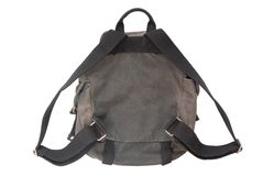 Backside of rucksack Stock Image