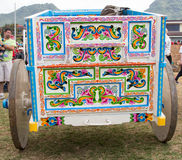 White ox-cart Royalty Free Stock Photo