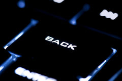 Backspace button Stock Photography