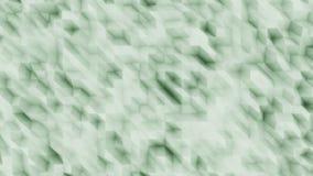 Backsrop moderno poligonale astratto verde per le presentazioni ed i rapporti Righe diagonali rappresentazione 3d Immagine Stock Libera da Diritti