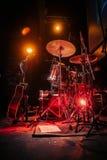 backstage foto de archivo