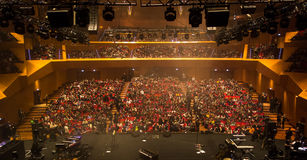 Free Backstage At The Concert Hall Stock Photography - 86186702