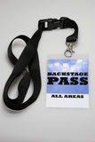 Backstage Pass royalty free stock photo