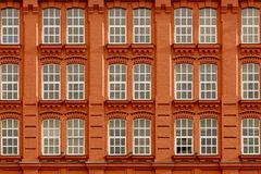 Backsteinhaus Lizenzfreie Stockfotos