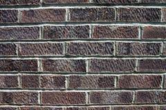 Backsteinmauer stockfoto