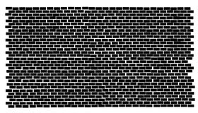 Backsteinmauer Lizenzfreies Stockfoto