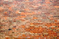 Backsteinmauer 5 Lizenzfreies Stockfoto