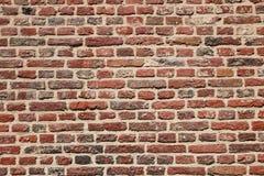 Backsteinmauer alt Stockbilder