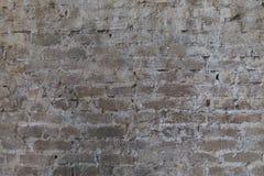 Backsteinmauer, alte Beschaffenheit von Steinblöcken Hintergrund Stockbilder