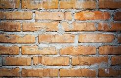 Backsteinmauer, alte Wand, Hintergrund, roter Backstein, Block, alt, Beschaffenheit Lizenzfreies Stockfoto