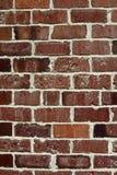 Backsteinmauer-Beschaffenheit Stockbild