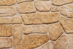 Backsteinmauer in der alten mittelalterlichen Art Stockfoto