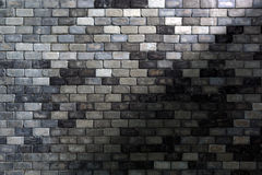 Backsteinmauer des orange Rotes Stockbild