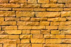 Backsteinmauer für die Designbeschaffenheiten und -hintergrund Lizenzfreie Stockfotos