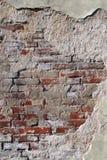Backsteinmauer für einen Hintergrund. Lizenzfreie Stockfotografie