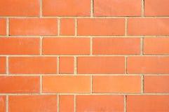 Backsteinmauer für Hintergrund Stockbild