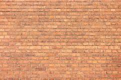 Backsteinmauer für Hintergrund Stockfotografie