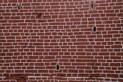 Backsteinmauer für Tapeten u. Hintergründe Lizenzfreie Stockfotos