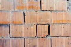 Backsteinmauer gemasert lizenzfreies stockbild