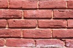 Backsteinmauer gemasert stockfoto