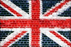 Backsteinmauer Großbritannien lizenzfreies stockfoto