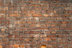 Backsteinmauer-Hintergründe Lizenzfreies Stockbild