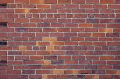 Backsteinmauer-Hintergrund Lizenzfreie Stockfotografie