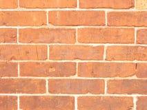 Backsteinmauer-Hintergrund Stockbild