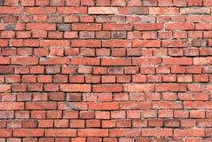 Backsteinmauer - Hintergrund Stockbild