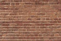 Backsteinmauer-Hintergrund Stockfotografie