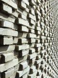 Backsteinmauer im Effekt 3d Stockbild