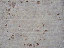 Backsteinmauer mit vergipstem Gips Lizenzfreie Stockbilder