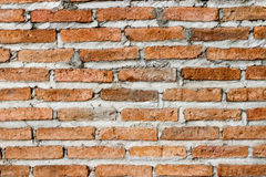 Backsteinmauer mit Weinleseart stockbilder