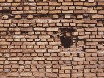 Backsteinmauer-Musterbeschaffenheit der Weinlese im altem Stil Lizenzfreies Stockfoto