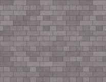 Backsteinmauer-nahtloser Hintergrund-kleine Ziegelsteine im Grau Lizenzfreie Stockbilder