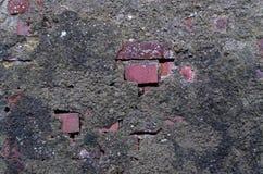 Backsteinmauerbeschaffenheit als Hintergrund Lizenzfreies Stockfoto
