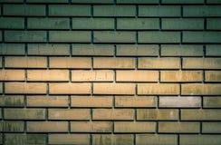 Backsteinmauerbeschaffenheit des gelben Steins blockiert Nahaufnahme Stockfoto