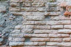 Backsteinmauerbeschaffenheit für Hintergrund Lizenzfreie Stockfotografie