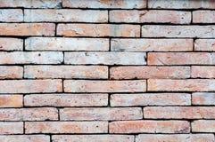 Backsteinmauerbeschaffenheit für Hintergrund Stockfotografie