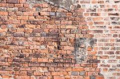 Backsteinmauerbeschaffenheit für Hintergrund Stockfotos