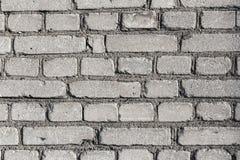 Backsteinmauerbeschaffenheit oder -hintergrund Lizenzfreie Stockbilder