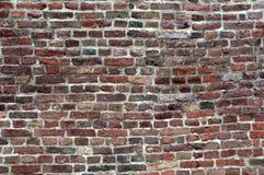 Backsteinmauerbeschaffenheit oder -hintergrund stockfoto