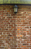 Backsteinmauerbeschaffenheits-Architektursteinmetzarbeit Lizenzfreies Stockfoto