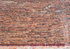 Backsteinmauerbeschaffenheitszusammenfassungsrauer roter Steinfassaden-Strukturhintergrund Lizenzfreies Stockfoto