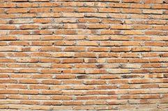 Backsteinmauerbeschaffenheitszusammenfassungszement u. -hintergründe Lizenzfreies Stockbild