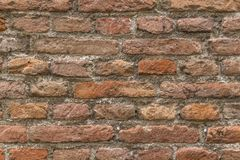 Backsteinmauerdetail Lizenzfreie Stockfotografie