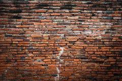 Backsteinmauerfragmenthintergrund Stockfoto