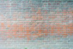 Backsteinmauerhintergrund Stockbild