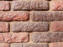 Backsteinmauerhintergrund lizenzfreie stockfotos